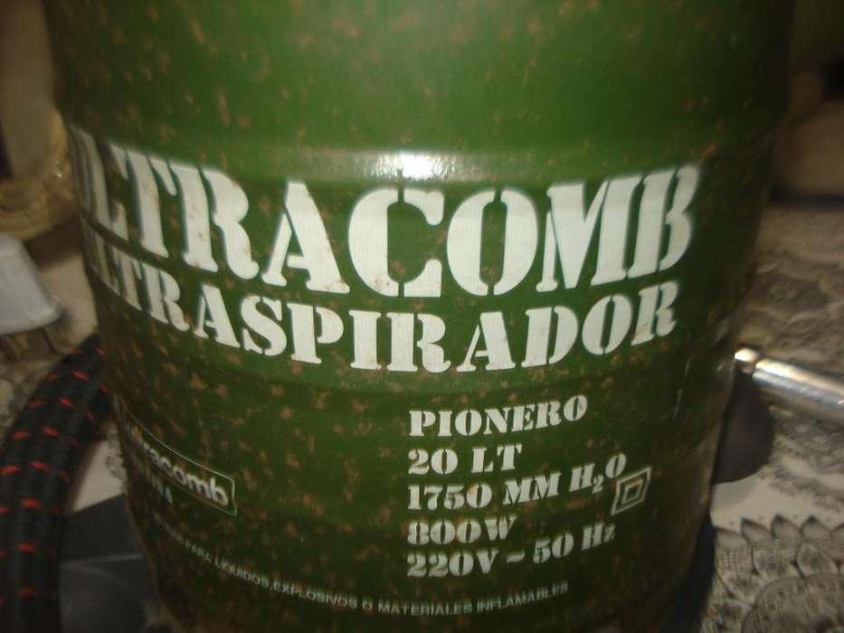 Aspiradora Ultracomb Pionero 20l Exc Funcionam. No Envio