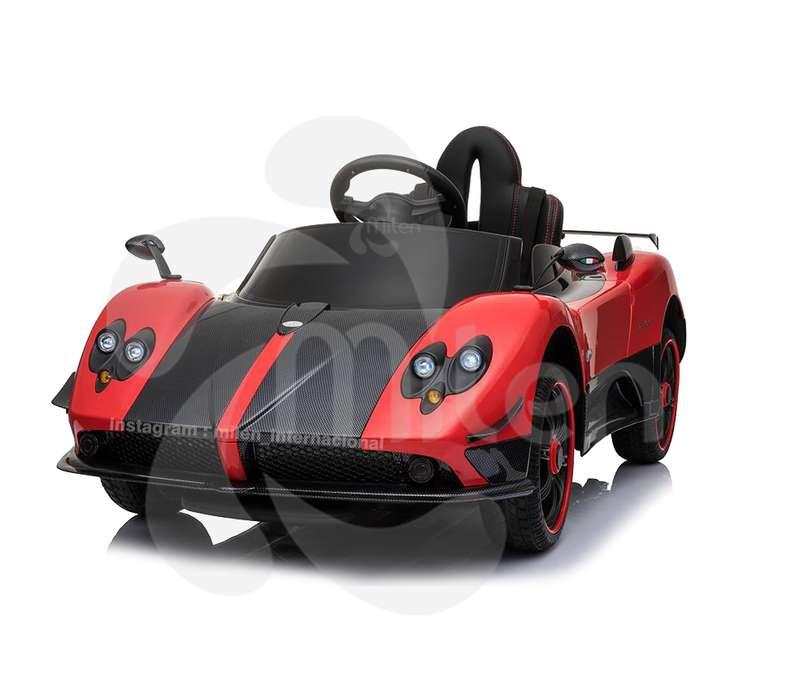 Pagani Zonda, carrito eléctrico montable niños, control remoto, pantalla