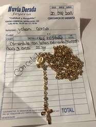 Vendo Camandula Y Cadena de Oro 18 K
