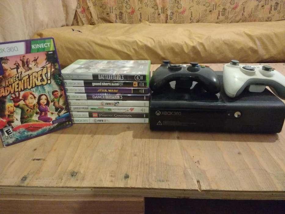 XBOX Kinect 4 gb Original sin chipear mas 9 juegos originales