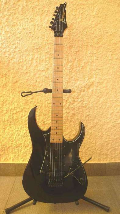 <strong>guitarra</strong> electrica Ibanez RG350M bk