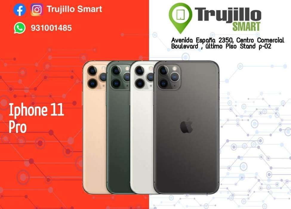 iPhone 11 Pro Caja Sellada.