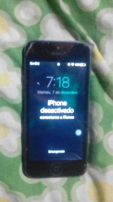 iphone 5 para repuesto