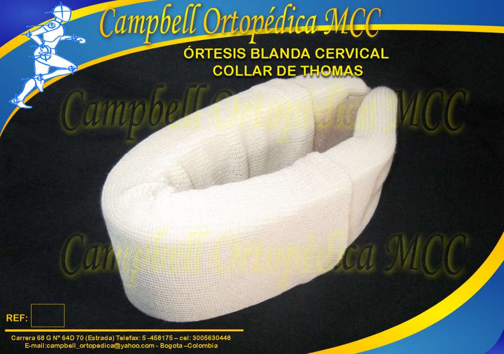 COLLAR DE THOMAS Campbell Ortopédica MCC