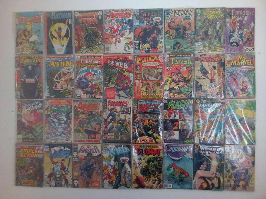 Marvel Y Dc Comics 1960s Y 70s