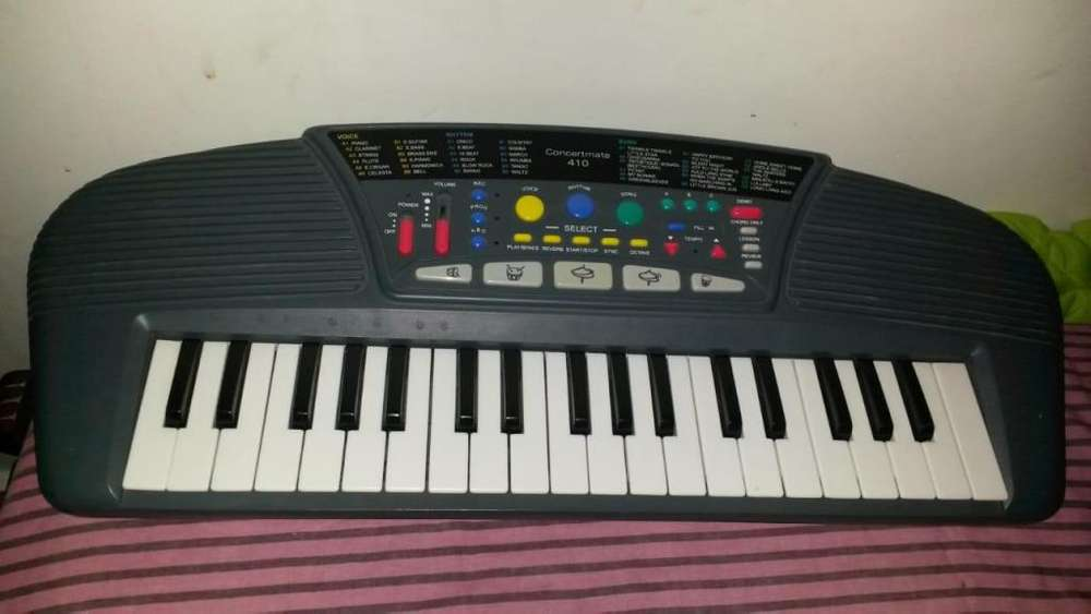 Teclado Piano Optimus Concermate 410