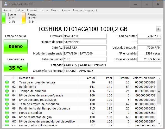 CrystalDiskInfo Crystal Disk Info