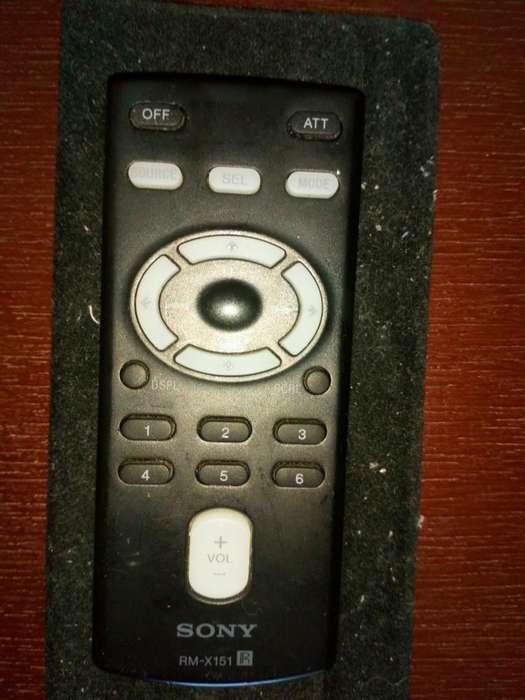 Control Radio Sony