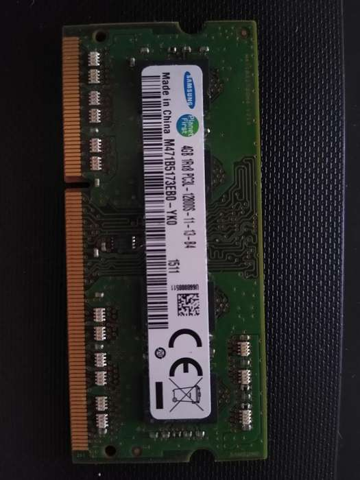Memoria Ram 4gb Ddr3 (portátil)