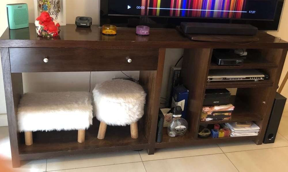 Rack Tv Madera