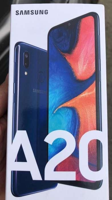 Samsung A20 Deep Blue - Nuevo