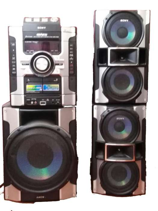 Equipo De Sonido Sony Genezi Modelo Mhc Gt55
