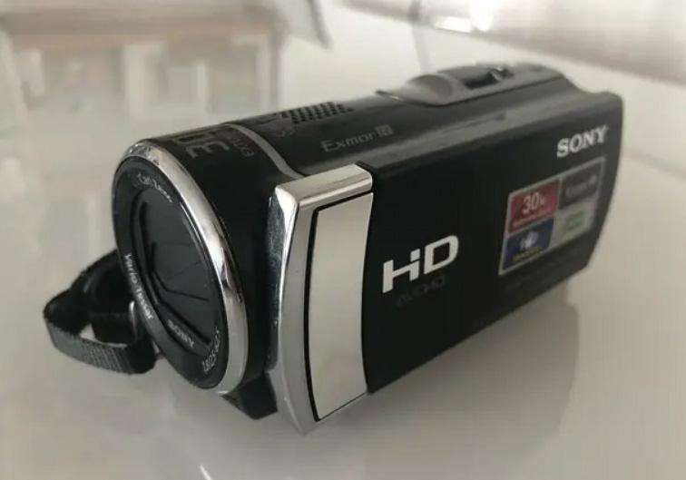 camara de video SONY Full HD sin detalles