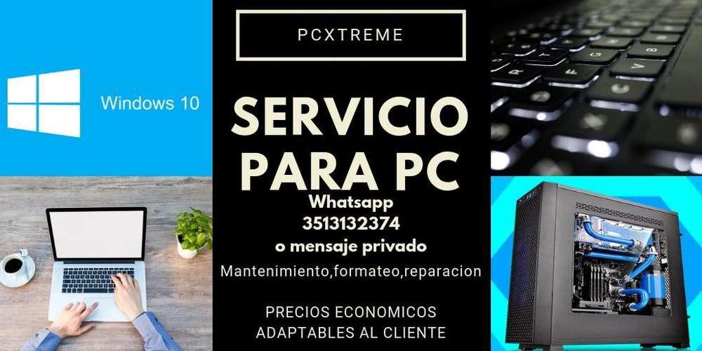 Servicio para Pc