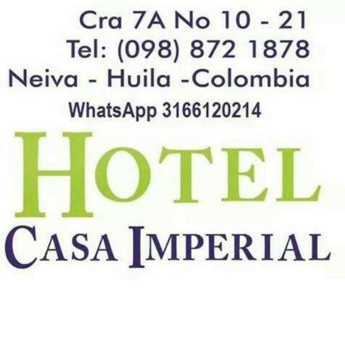HOTEL CASA IMPERIAL NEIVA HUILA COLOMBIA