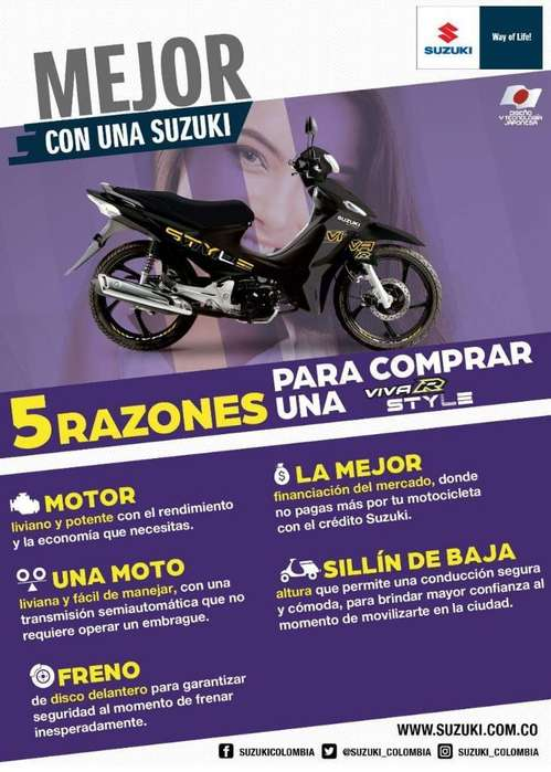 Suzuki Vivar Style Modelo 2020