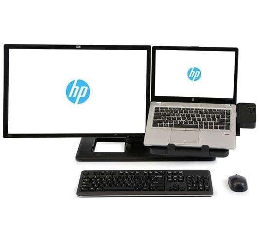 Soporte y pantalla del ordenador portátil HP