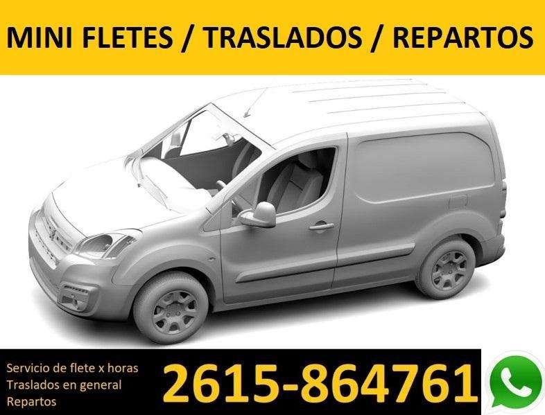 MINI FLETE - TRASLADOS - REPARTOS