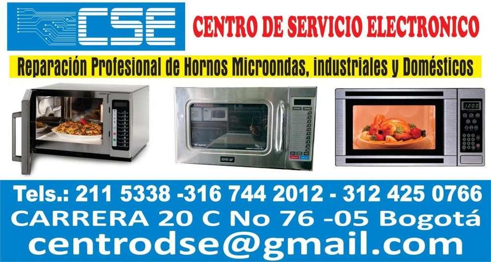 REPARACIÓN Y MANTENIMIENTO DE MICROONDAS. INDUSTRIALES Y DOMÉSTICOS. Carrera 20C No76-05 Tel 2115338 Cl 3124250766