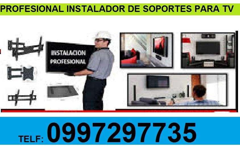 OFRECEMOS INSTALACIONES DE TODO TIPO DE SOPORTE DE TV .. INSTALADOR PROFESIONAL