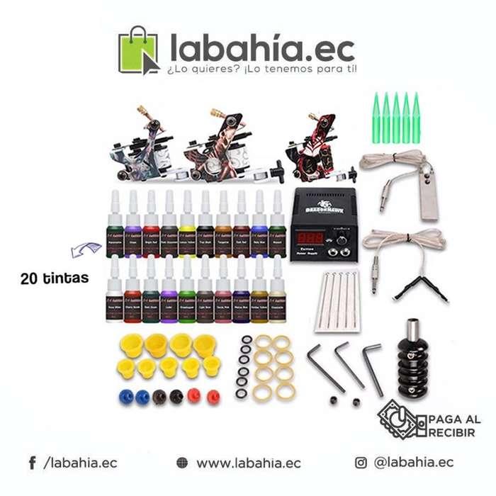 Máquina para Tatuar Kit Completo