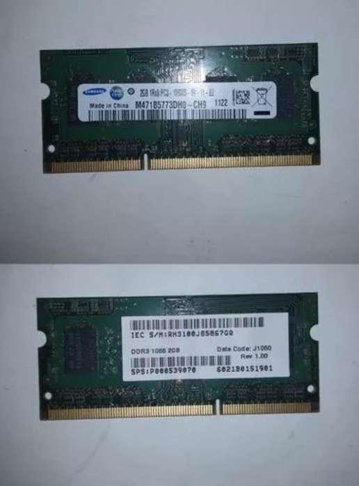 Memoria Ram para Laptop Ddr3 2gb