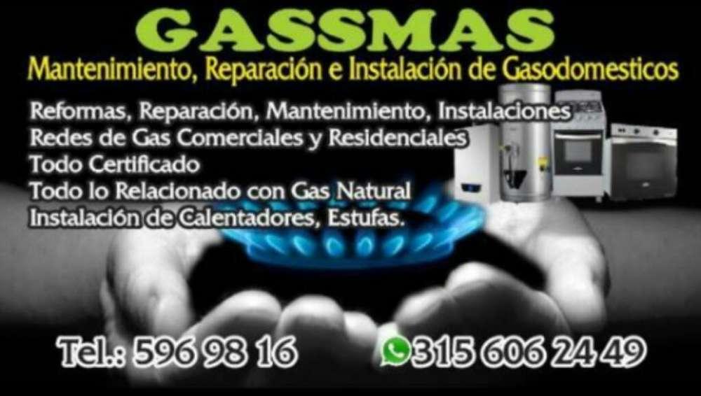 Tecnico en Redes de Gas Natural
