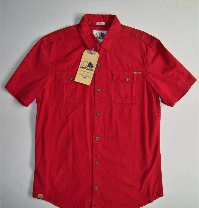 Camisa Americanino original Talla S slim