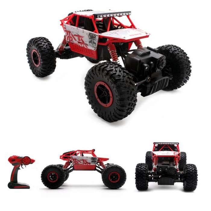 Carro RC Monster buen juguete