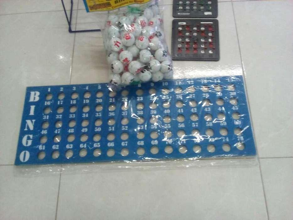 Juego de Bingo Grande Reglamentario.