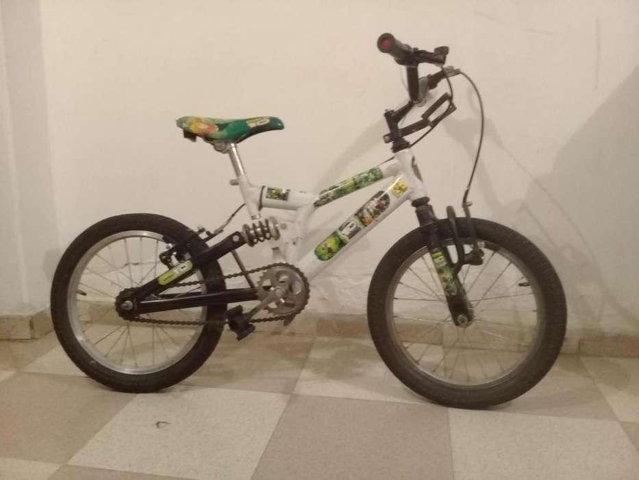 Vendo bicicleta de Ben 10
