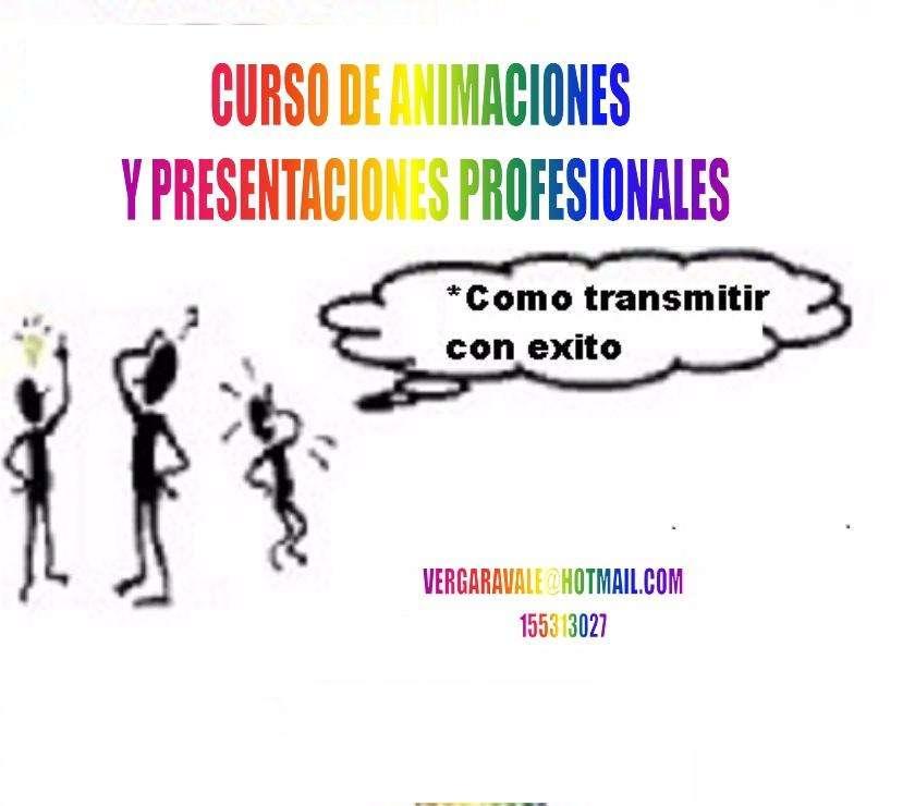 Curso de Presentaciones y Animación Profesional