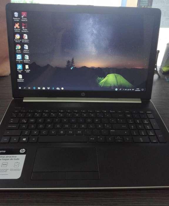 Vendo Laptop HP Semi Nueva Color Dorado