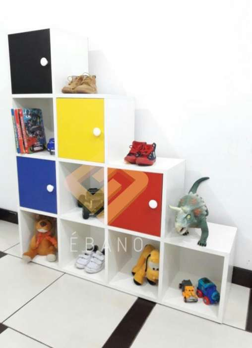 Librero Porta Juguetes para Niño
