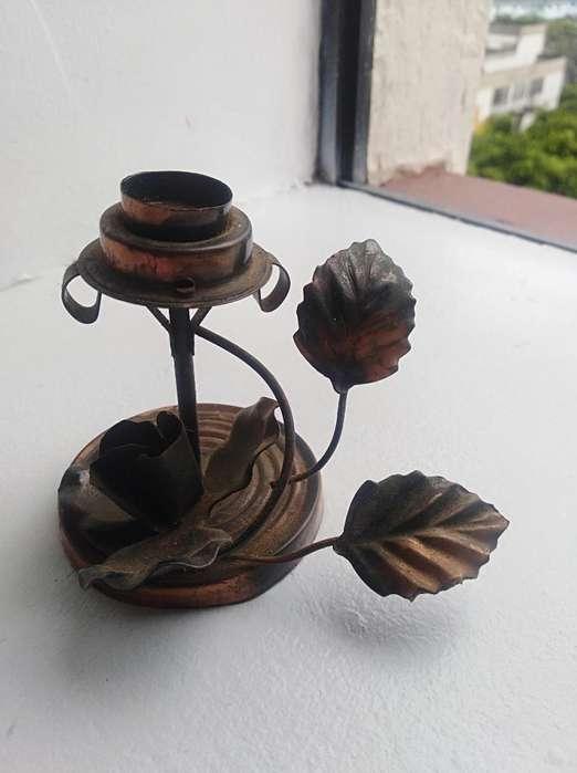 Candelabro Mini Bronce - Cobre