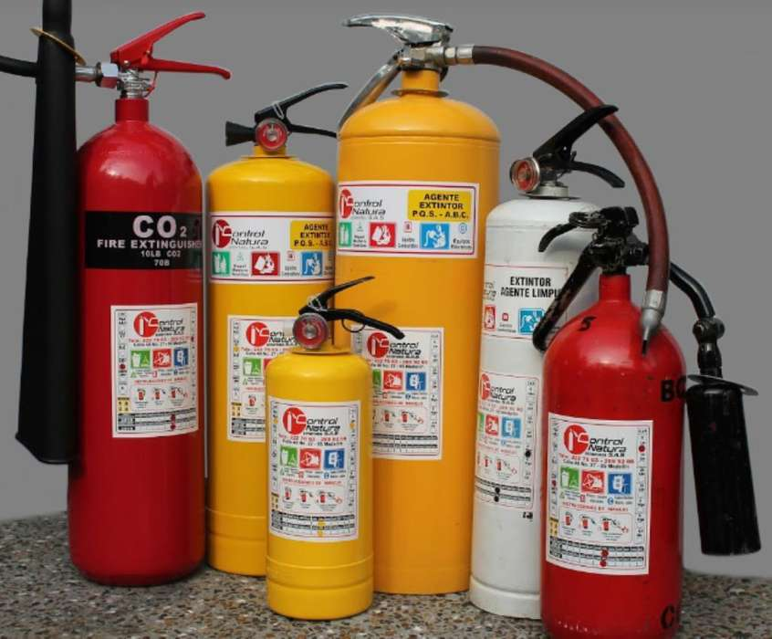 Alquiler Extintores