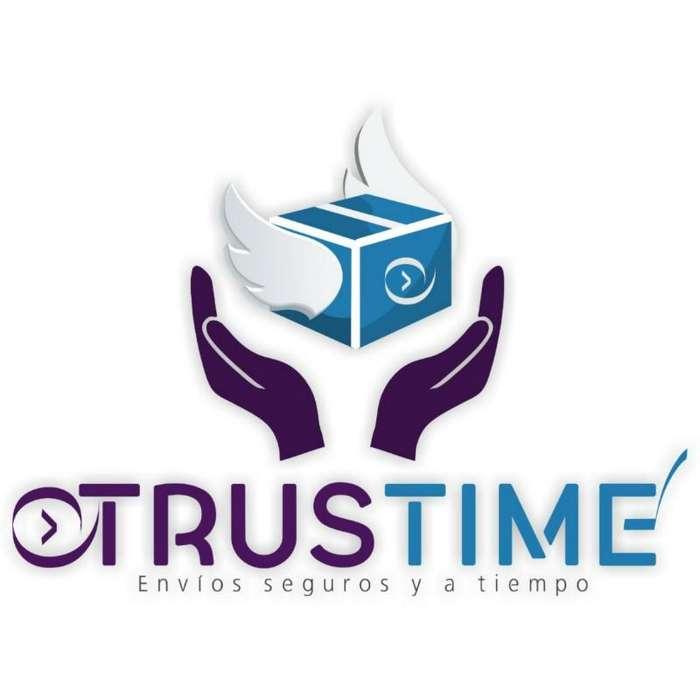 Trustime Mensajeria, envios seguros y a tiempo.
