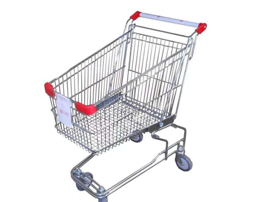 Changos Para Supermercado - 120 Litros – NUEVOS