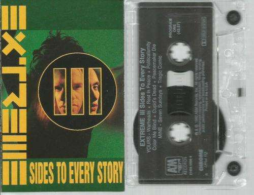 Cassette III Sides To Every Story 1992 Extreme