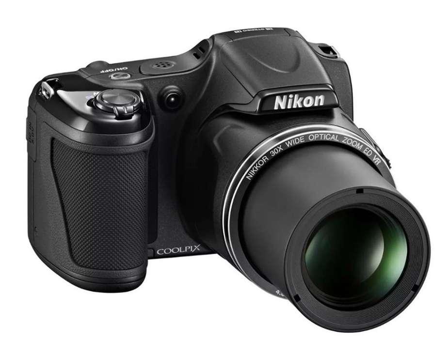 Camara Nikon Coolpix L820
