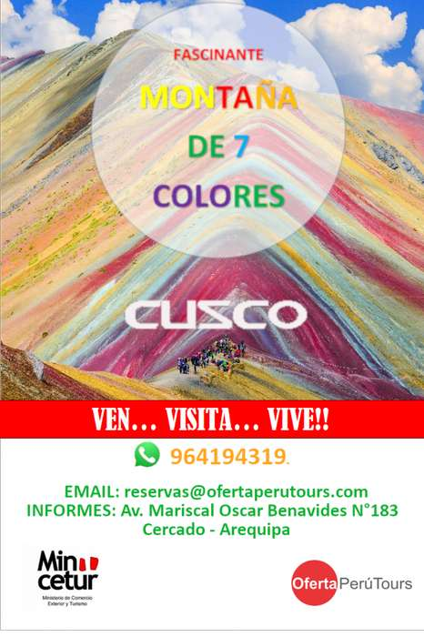 TOUR MONTAÑA 7 COLORES / TOUR CUSCO