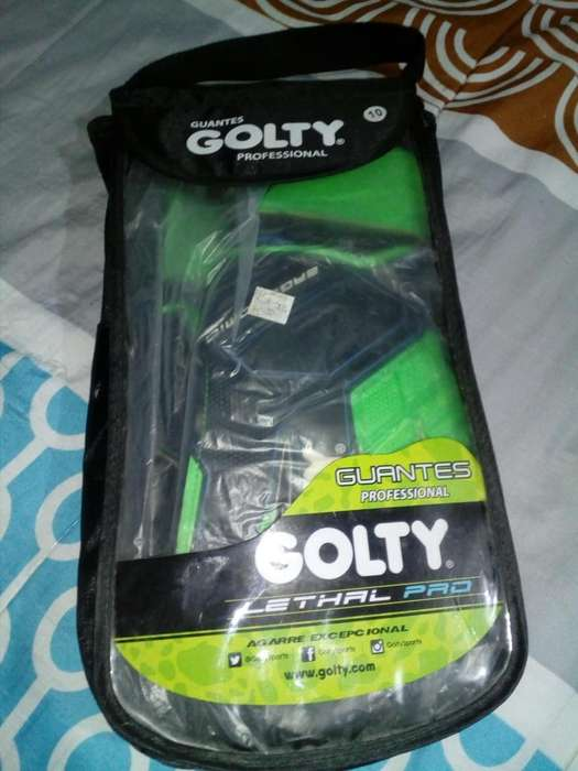 Guantes marca Golty Prefesional