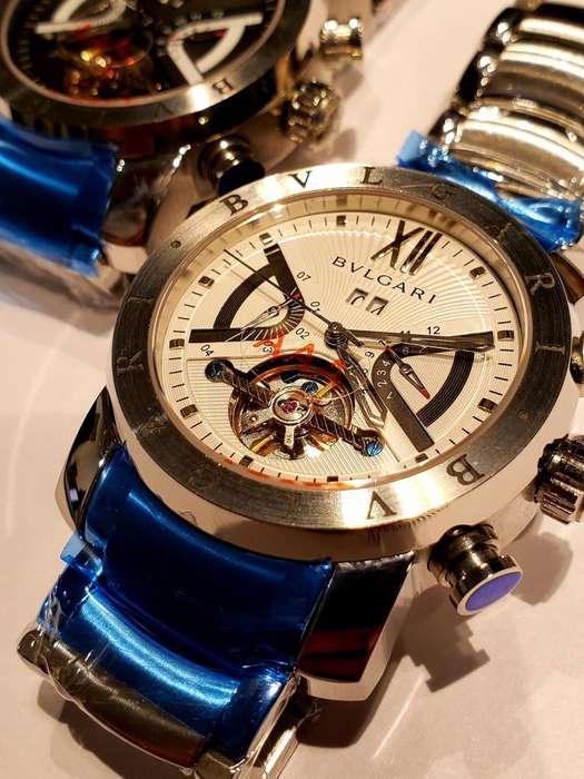 Reloj Automatico Bvlgary SD38S L2161