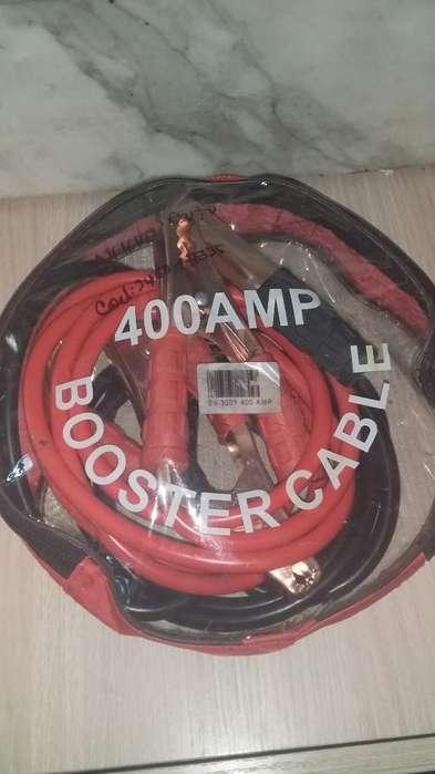 cables Iniciar Carro Booster 400 Amp