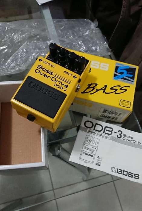 Pedal BOSS ODB3 Overdrive para bajo