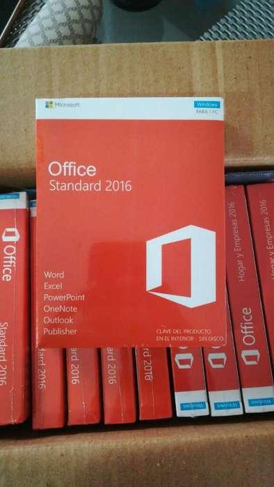 Licencias Office Professional 2016