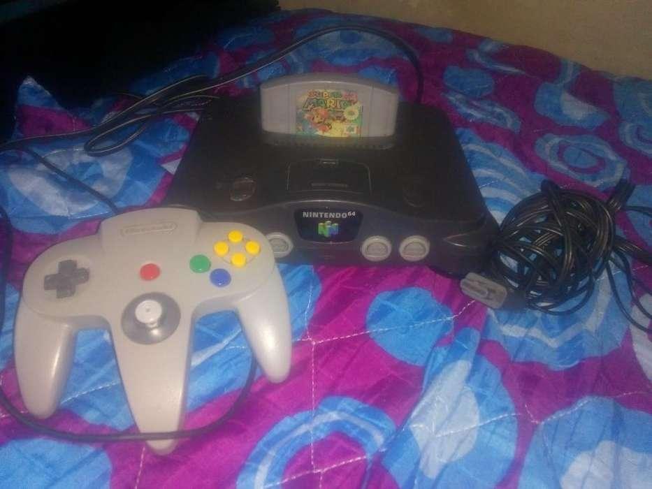 Vendo Nintendo 64 Todo Original Bueno