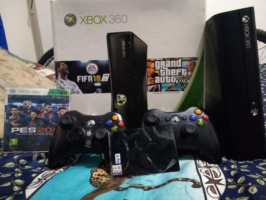Vendo O Cambio Xbox Slim 5.5 de 250 Gb