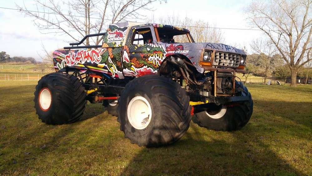 <strong>camioneta</strong> Ford F 100 Chevrolet Monster Trucks