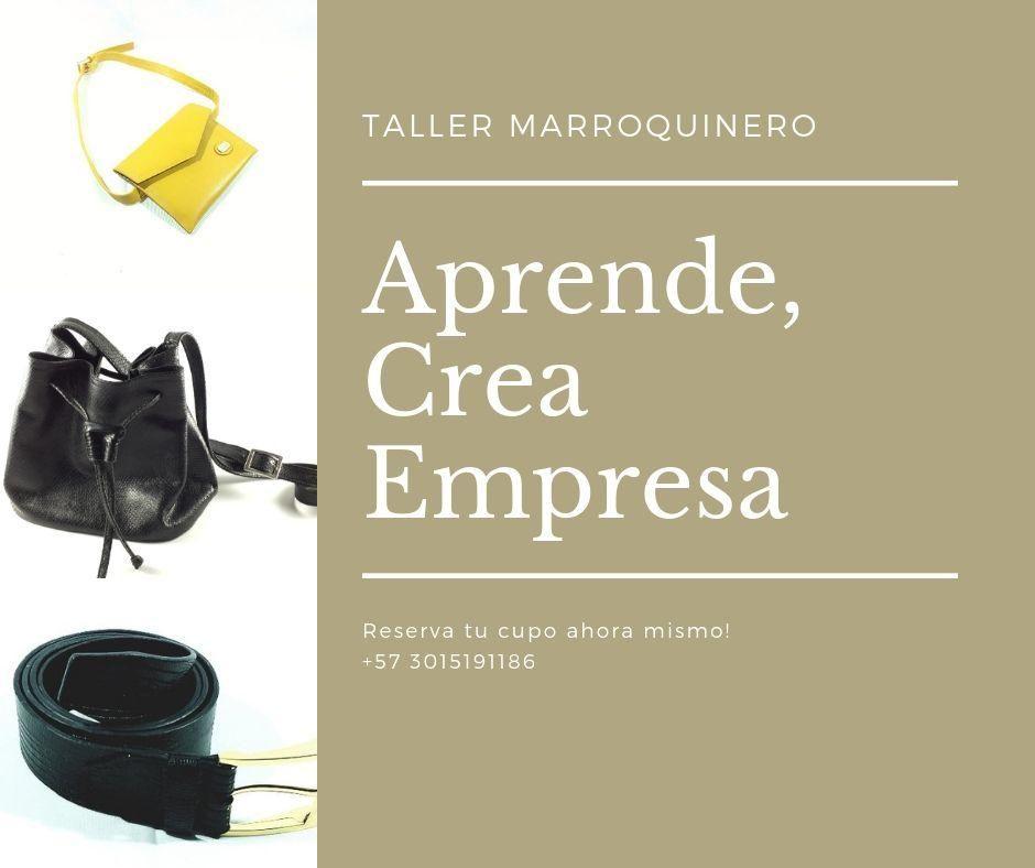 Cursos, clases, taller de emprendimiento en Bolsos
